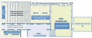 Convention area floor plan